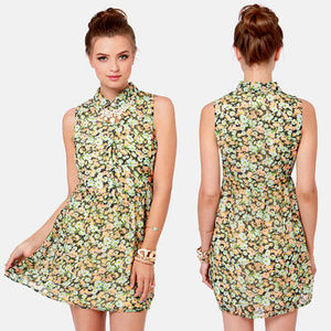 """Volcom for Lulus """"Not So Classic"""" Floral Dress"""